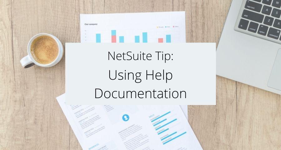 Using Help Documentation