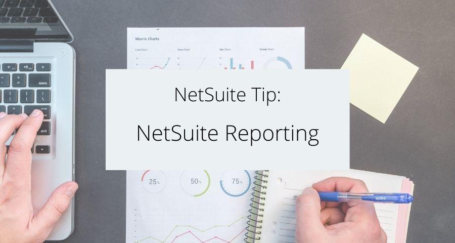 NetSuite Reporting