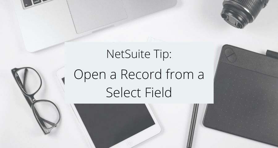 Open a Record from a Select Field