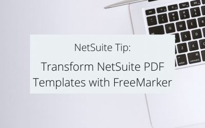 Transform NetSuite PDF Templates with FreeMarker