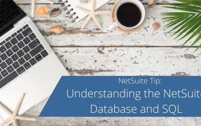 Understanding the NetSuite Database and SQL